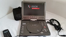 "tragbarer DVD Player X4 Tech TITAN9 6"" Monitor, analoger und DVBT 1 Empfang"