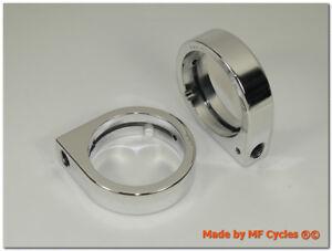 Blinkerhalter 41mm und 41,3mm Gabelholme Telegabel Blinkeraufnahme M10x1,25