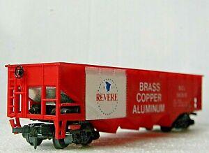 Tyco Quad Hopper ~ Revere Brass Copper Aluminum Rd# SCL 563115 - HO