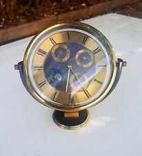 Royale Hermle Germany Pendulette lunaire phase complication Horloge calendaire