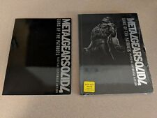METAL GEAR SOLID 4 GUNS OF THE PATRIOTS LIMITED EDIT STRATEGY GUIDE NEW +ARTBOOK