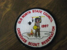 Cherokee Scout Reservation 1997 Pocket Patch cpp