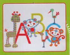 Jungle Friends ABC  - Cross Stitch Kit - Make It by Leutenegger