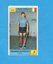 CAMPIONI SPORT 1969-70-PANINI-Figurina n.244- BATTISTELLA-ITALIA-HOCKEY ROT-Rec