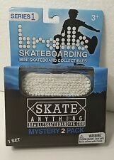 2020 Series 1 Braille Skateboarding Mini Collectibles NEW Mystery 2-Pack. Sealed