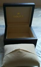 VINTAGE Rolex Watch Box  RED Wood