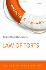 Questions & Answers Law of Torts Law Revision and Study Gu... by Harvey, Barbara