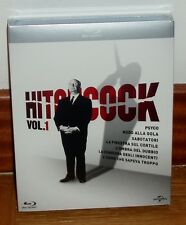 COLECCION ALFRED HITCHCOCK-VOL.1-PACK 7 BLU-RAY-PRECINTADO-SEALED-CASTELLANO-NEW