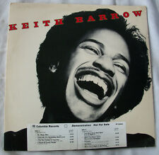KEITH BARROW Self Titled DEMO LP RECORD ALBUM free shipping