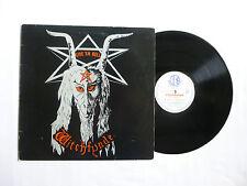 Witchfynde ~ ~ a 'em Hell Vinilo Lp ~ alrededor de 1 ~ NRM/en muy buena condición + ~ raras 1980 UK Nwobhm