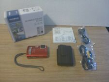 Red Olympus Tough TG-310 14MP 3.6x Zoom Waterproof/Shockproof - Digital Camera