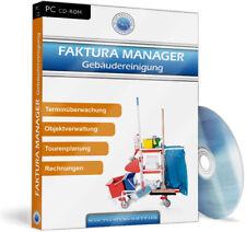 Faktura Manager Glas & Gebäudereinigung Software EDV,Rechnungsprogramm,Angebote