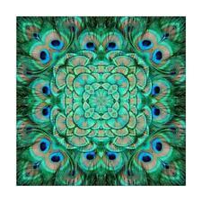 5D Bricolaje Completo Drill Diamante Pintura Pavo Real Cruz Punto Bordado Mosaic