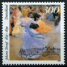 MUSIC: JOHANN STRAUSS the YOUNGER GERMANY 1999 MNH