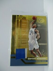 2007-08 Bowman Elevation Relics Patches Blue #DH Dwight Howard MAGIC