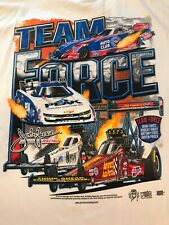 "NHRA DRAG RACING ""TEAM FORCE"" T- SHIRT  SIZE 4X"
