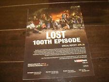LOST 100th episodes ad Terry O'Quinn, Matthew Fox, Josh Holloway, J.J. Abrams
