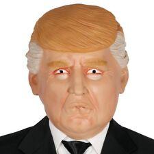 Donald Trump USA President Overhead Rubber Fancy Dress Mask