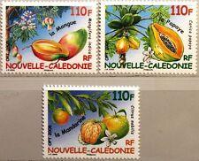NEW Caledonia New Caledonia 2008 1458-60 Tropical Fruits Mandarin Mango MNH