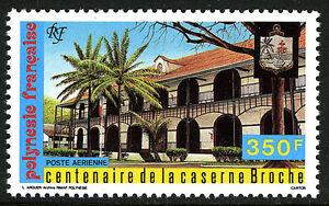 French Polynesia C224, MNH. Broche Barracks, 120th anniv. 1987