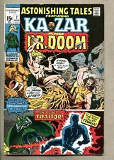 Astonishing Tales #7-1971 fn+ Ka-Zar Doctor Doom Black Panther 2nd Barbara Morse