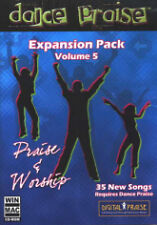 Dance Praise Expansion Pack Vol. 5 Praise & Worship NEW, 35 songs, Get B4 Gone!