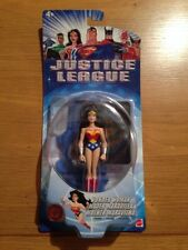 Justice League Wonder Woman Action Figure, Mattel, DC, MOC Sealed (B21)