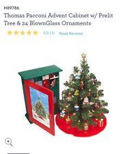 Thomas Pacconi Classics Wooden 2004 Advent Calendar with 24 Ornaments