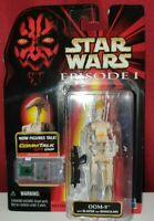 OOM-9 Star Wars Episode 1 Collectable CommTalk Figure With Blaster  1999 HASBRO