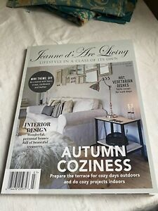 Jeanne D'Arc Living Magazine 7th Issue 2021 Autumn Coziness. BrocanteArt Style