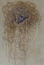 CLEREN Jean-Paul : Chevelure d'or - LITHOGRAPHIE signée et numérotée #250ex