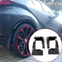 For Toyota C-HR CHR 2016-2020 Black Mud flaps Mudguard Dirt Fender Cover 4pcs