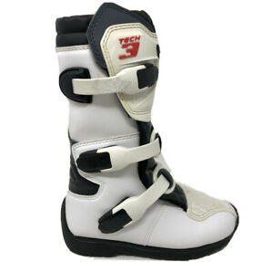 Alpinestars Tech 3S Kids White / Black  Size: US 13 : EUR 32 : JPN 20