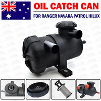 Oil Catch Can for Isuzu D-Max 4JJ1 Holden Colorado Rodeo 4wd 4x4