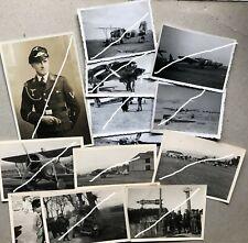 Originale Fotos Legion Condor Flugzeuge Portrait Spanien Luftwaffe Konvolut WK2