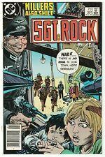 SGT. ROCK #391 AUG 1984 NM- 9.2 DC COMICS