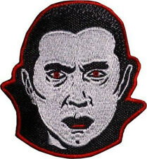 Count Dracula Patch Embroidered Badge Horror Movie Munsters Bela Lugosi Costume