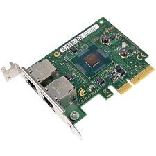 LOW PROFILE Fujitsu D2735 Dual-Port Gigabit-LAN PCIe x4 Fujitsu P/N: D2735-A12