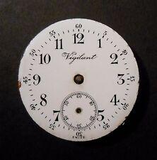 Langendorf Vigilant Pendant Pocket Watch Movement 1J Unadjusted Steampunk