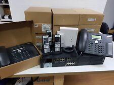 PBX CENTRALITA TELEFONICA AASTRA 470 CON LOTE DE TELÉFONOS Y SYSTEMBASE 4+