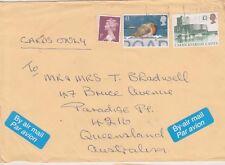 (K72-41) 1977 GB airmail envelope to QLD (AP)