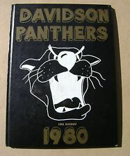 1980 North Davidson Middle School / Junior High School Yearbook Lexington NC