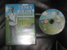 Stephen Merchant Hello Ladies LIve DCD