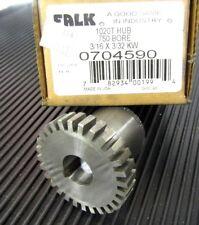 "Falk Rexnord 1020T 20T Steel Flex Coupling Hub 0704590 .75"" 3/4"" Keyed Bore"