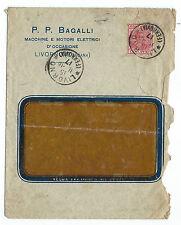 FRANCOBOLLI 1916 MARCA DA BOLLO 20 CENTESIMI SU BUSTA COMMERCIALE A/6671