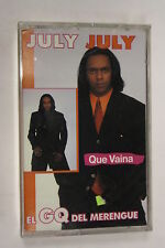 Que Vaina by july (Audio Cassette Sealed)