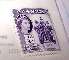 MALTA 1956 POSTAGE STAMP #246 MNH MONUMENT OF GREAT SIEGE LOT 13