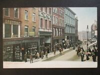 Mint Vintage Grafton Street Dublin Ireland Real Picture Postcard