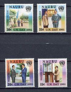 36567) Nauru 1980 MNH One Day 4v