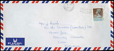 Hong Kong 1989 Commercial Air Mail Cover To England #C30326